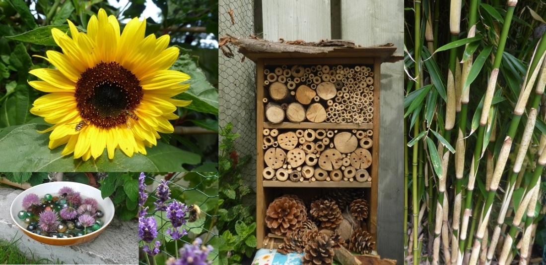 Help de bijen met een bijenhotel