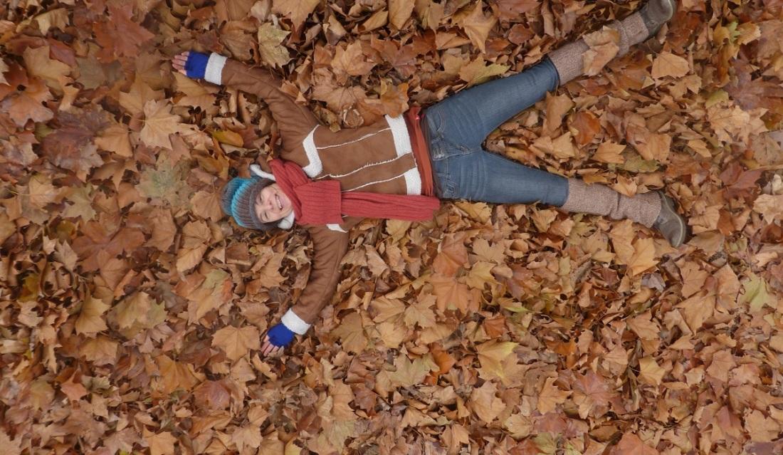Herfstbladeren maken blij